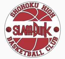 Shohoku High Basketball Club Logo Kids Tee