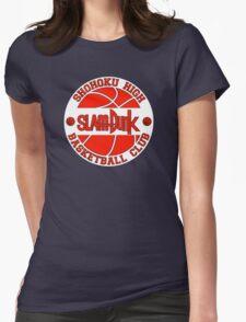 Shohoku High Basketball Club Logo Womens Fitted T-Shirt