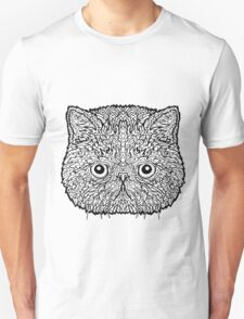 Exotic Shorthair Cat - Complicated Coloring T-Shirt