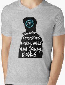 Coldplay lyrics on Sherlock Mens V-Neck T-Shirt