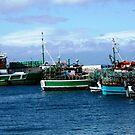 Kalk Bay fishing boats by fourthangel