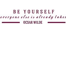Oscar Wilde Quote by missiemari