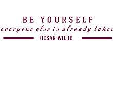 Oscar Wilde Quote by missiemari
