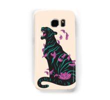 Black tiger Samsung Galaxy Case/Skin