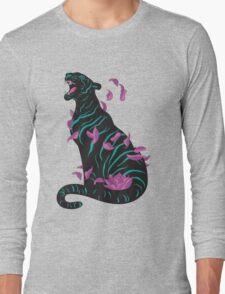 Black tiger Long Sleeve T-Shirt