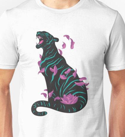 Black tiger Unisex T-Shirt
