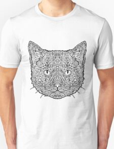 Ginger Tom Cat - Complicated Coloring T-Shirt
