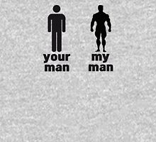 Your man vs my man Womens Fitted T-Shirt
