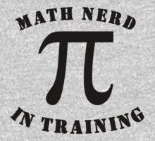 Math Nerd In Training One Piece - Long Sleeve