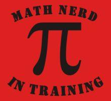 Math Nerd In Training One Piece - Short Sleeve