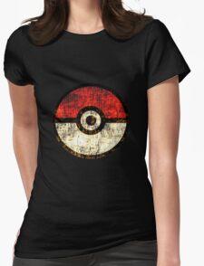Pokéball Womens Fitted T-Shirt