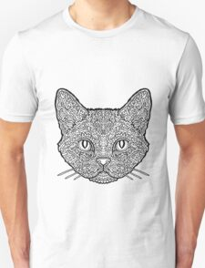 American Wirehair Cat - Complicated Coloring T-Shirt
