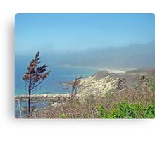 Misty View From Nobska Point - Woods Hole MA Canvas Print