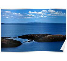 Coastal Inlet Poster