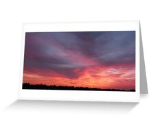 Nature  sky Greeting Card