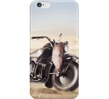 Military Motorcycle iPhone Case/Skin
