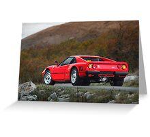 Ferrari 288 GTO 1985 Greeting Card
