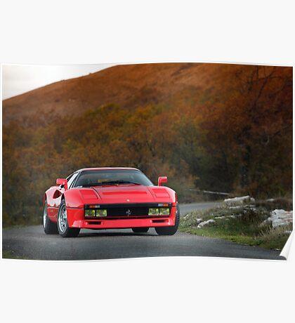 Ferrari 288 GTO 1985 Poster