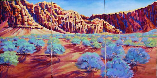 Divine Backdrop Kayenta by jdbuckleyart