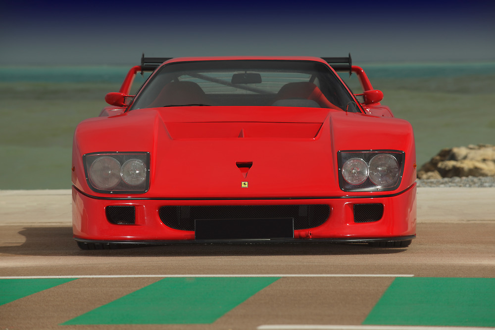 Ferrari F40 LM Michelotto by Stefan Bau