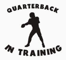 Quarterback In Training Kids Clothes