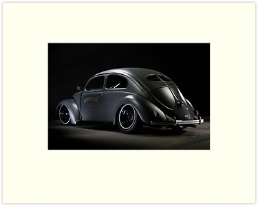 Volkswagen Beetle 1954 Top Chop by Stefan Bau