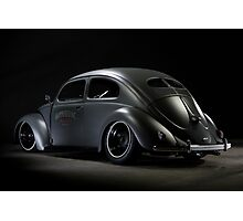 Volkswagen Beetle 1954 Top Chop Photographic Print