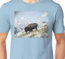 Winter Bison Unisex T-Shirt