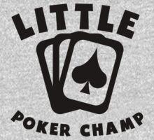 Little Poker Champ Baby Tee