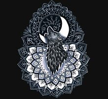 Luna Wolf Mandala Unisex T-Shirt