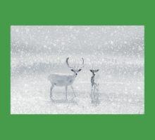 Winter Reindeer Kids Tee
