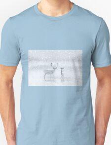 Winter Reindeer Unisex T-Shirt