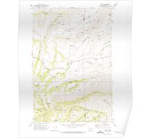 USGS Topo Map Washington State WA Peola 243118 1971 24000 Poster