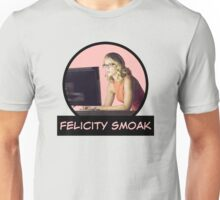 Felicity Smoak - Comic Book Text Unisex T-Shirt