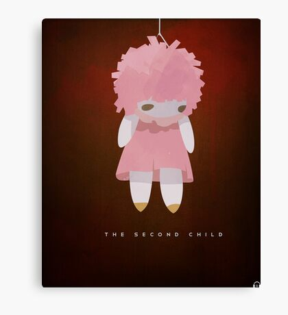 The Second Child Canvas Print