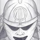 Pencil Swirl Kabuto  by samurair