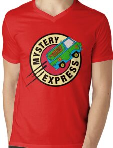 The Mystery Express Mens V-Neck T-Shirt