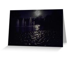 Cobbles and Fountains Greeting Card
