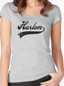 Harlem - New York Women's Fitted Scoop T-Shirt