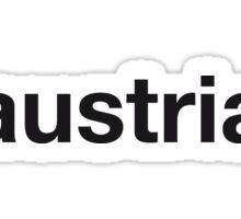 AUSTRIAN Sticker