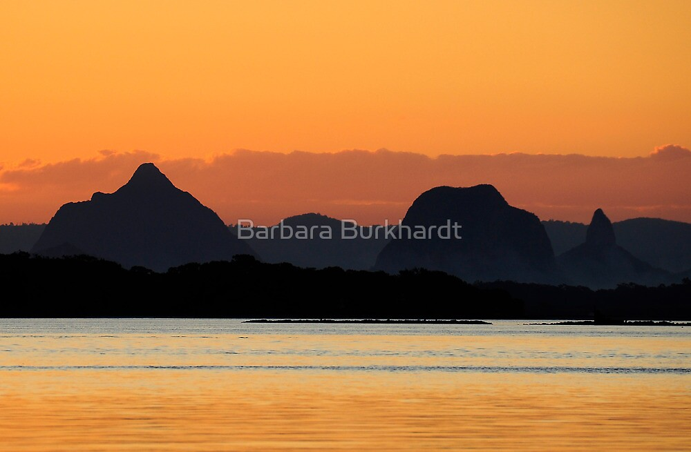 The Legend of the Glass House Mountains by Barbara Burkhardt