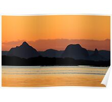 The Legend of the Glass House Mountains Poster