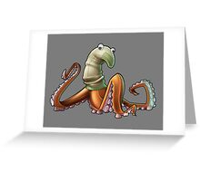 Socktopus Greeting Card