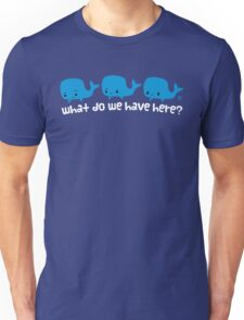 Whale Whale Whale (Light Text) Unisex T-Shirt