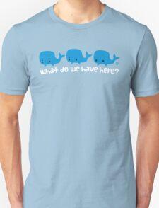 Whale Whale Whale (Light Text) Unisex T-Shirt
