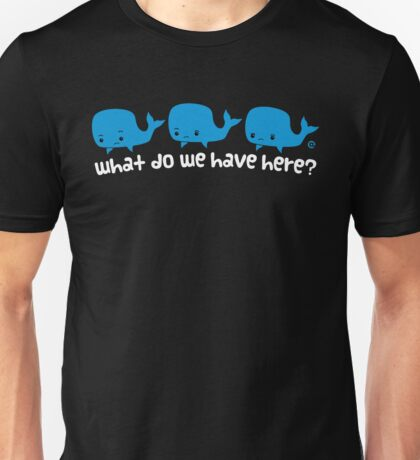 Whale Whale Whale (Light Text) T-Shirt
