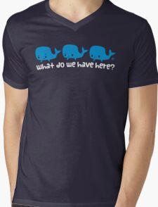 Whale Whale Whale (Light Text) Mens V-Neck T-Shirt