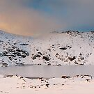Winter finds Blue Lake, Kosciuszko National Park, NSW, Australia by Michael Boniwell