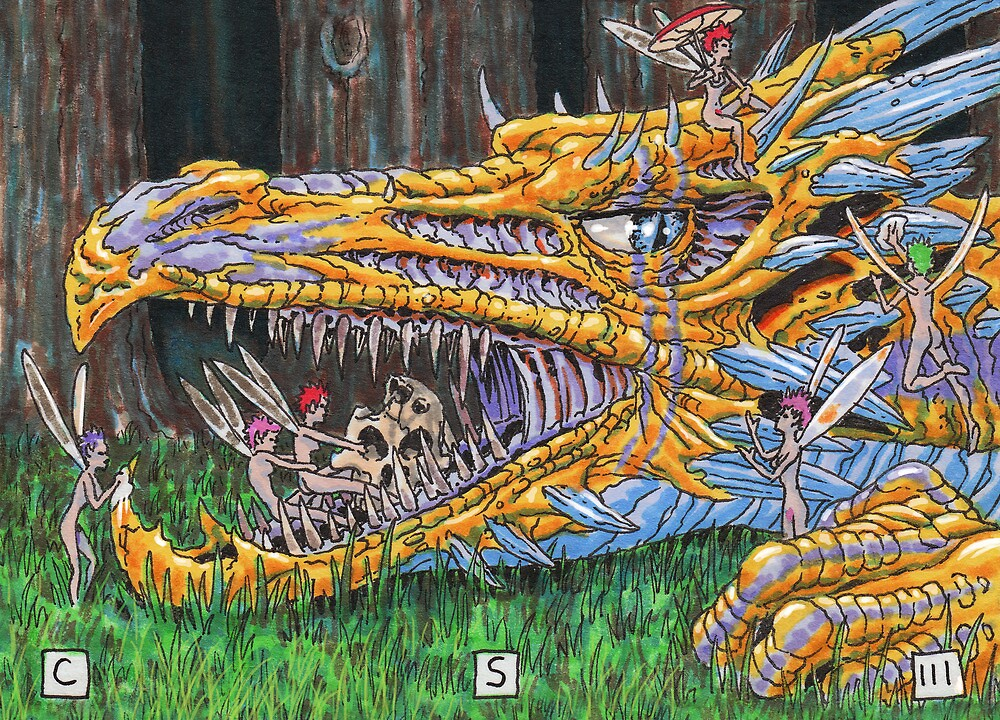 Age of Dragons by cs3ink