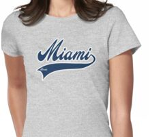 Miami - Florida Womens Fitted T-Shirt